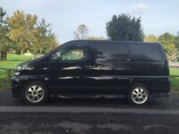 Nissan Elgrand , automatic, 8 seater