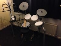 WHD516-pro electric drum kit with sticks, headphones, stool and music stand