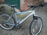 Mongoose mountain bike in new condition