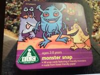 New in Tin 'Monster Snap' Early Learning Centre