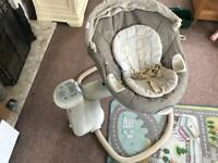 Graco 'Sweetpeace' soother swing seat