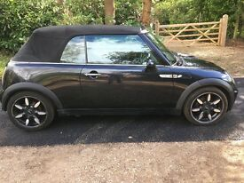 2007 Mini One 'Sidewalk' Convertible. 1 OWNER FROM NEW. LOTS OF SERVICE HISTORY. Fantastic condition