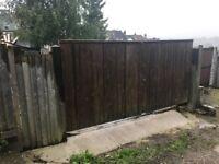 Large Heavy Duty Wooden Gates