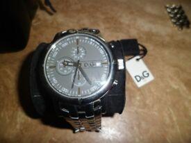 Mens D&G chronograph watch DW0480