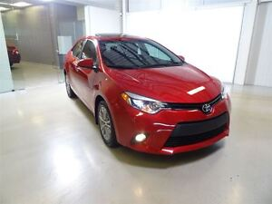 2014 Toyota Corolla 4-Door Sedan LE ECO Upgrade Pkg Cvti-S Navig