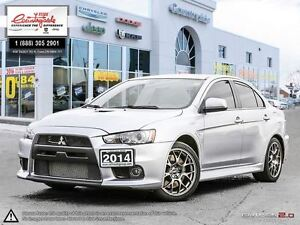 2014 Mitsubishi LANCER EVOLUTION MR *AWD, TURBO CHARGED ROCKET*