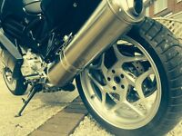 BMW F800ST. Factory low suspension / low seat.