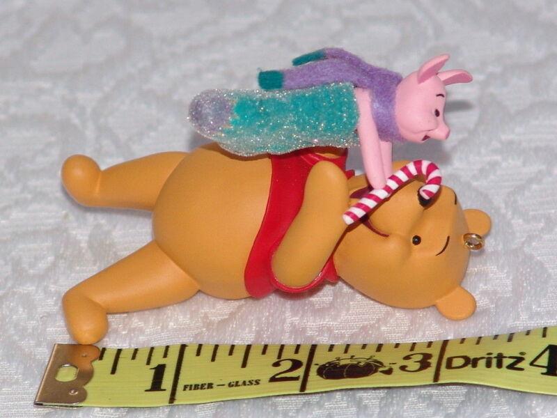 2004 Hallmark Ornament Winnie the Pooh Stocking Stuffers w/ Piglet