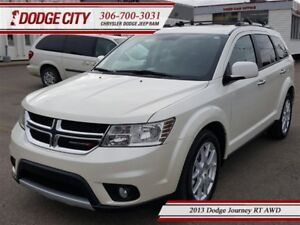 2013 Dodge Journey RT | AWD | PST PAID - DVD, Heated Leather, R.