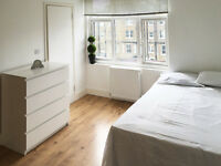 087T – BARONS COURT-WEST KENSINGTON - BRIGHT AND MODERN DOUBLE STUDIO FLAT - £230 WEEK
