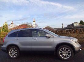 (2008) HONDA CR-V EX 2.2 I-CTDi 4WD One Lady Owner - Panoramic Roof - Heated Leather - Sat-Nav - FSH
