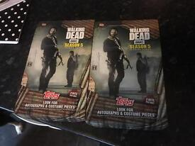 Walking dead trading cards season 5