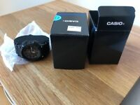 BRAND NEW CASIO ILLUMINATOR WATCH. BLACK. BOXED. £15 NO OFFERS. CAN DELIVER