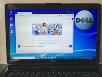15 inch Dell Inspirion 1545 2GHz 3Gb 160Gb HDD Windows 10 Office laptop notebook