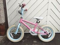 Fairies 14 inch kids bike