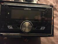 Kenwood car radio and Phoenix Gold sub amp