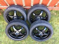 """17"""" TSW Wheels offset 4x114"""