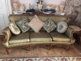 FRENCH LARGE SOFA SETTEE
