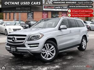 2013 Mercedes-Benz GL-Class ACCIDENT FREE! ONTARIO VEHICLE!