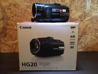 Canon HG20 60gb HDD AVCHD Remote Camcorder