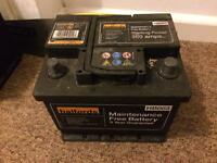 HALFORDS CAR BATTERY 063 360a