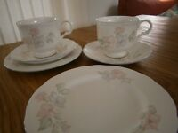 Sadler Bone China, 18 piece tea set