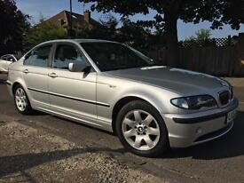 2004 BMW 320i 2.2 Silver Automatic - ONLY 60k Miles