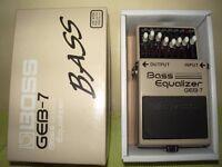 Boss GEB-7 Equalizer pedal