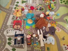 Big baby soft toy bundle