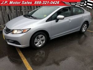 2014 Honda Civic Sedan LX, Automatic, Bluetooth, Only 61, 000km