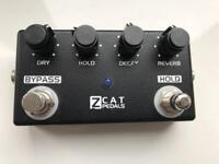 ZCAT Hold Reverb - sustainable Reverb Effects pedal RARE