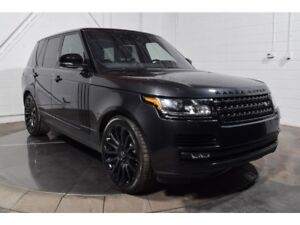 2017 Land Rover Range Rover SUPERCHARGED AWD V8 CUIR TOIT PANO M