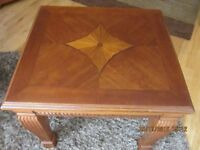Attractive High Quality Solid Wood Coffee Table and Side Table - matching items