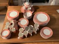 Villeroy and boch Siena pattern porcelain dinner service for 10