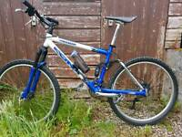 Kona Kahuna full suspension mountain bike