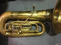 York Eb Tuba with recording bell