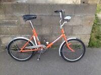 Vintage/retro folding bike