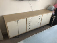 Versatile sideboard and cupboards with drawers - Good for any room