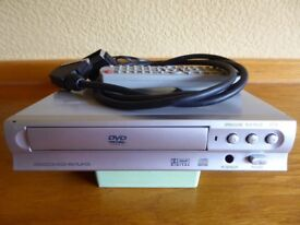 DVD/CD Player with remote handset and SCART connection