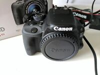 Canon 100D DSLR Body Only with original box and accessories