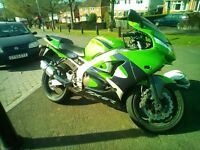 Kawasaki zx6r spares or repair
