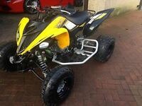 **** BRAND NEW YAMAHA RAPTOR 60TH ANNIVERSARY ROAD REG THE ONLY NEW ONE IN THE FULL OF THE UK***