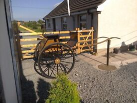 Exercise carriage, suit up to 14.2hh. Genuine reason for sale.