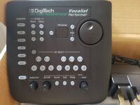 Digitech Vocalist Performer..(Vocal harmony processor) plus 3 way foot pedal.