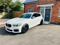 BMW m135i white facelift px welcome