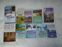 A Collection of 10 Mave Binchy Books