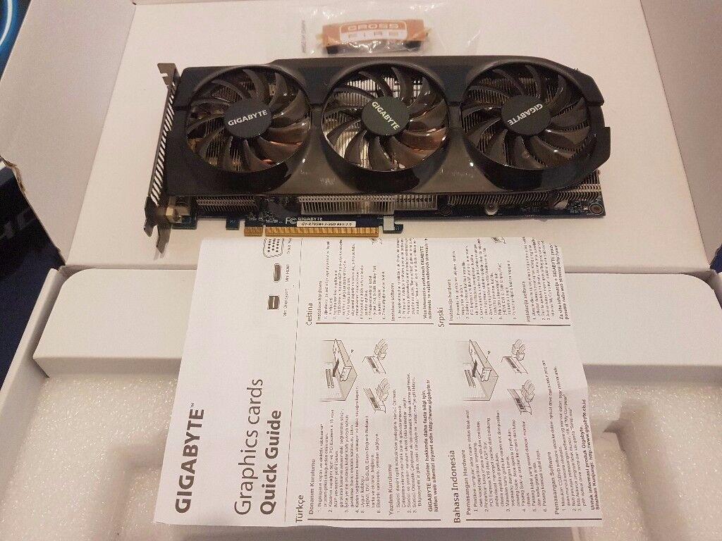 Gigabyte Windforce AMD 7950 Graphics card Overclocked Edition