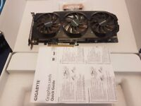 Gigabyte Windforce AMD 7950 Graphics card Overclocked Edition