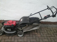 Honda HRH536 Hydrostatic Selp Propelled 21 inch Petrol Lawnmower... SERVICED