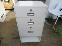 Very Heavy Duty Cabinets With Top Two Removable Trays & Individual Yale Locks